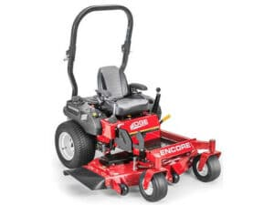 Encore Edge mower with Commercial quality with heavy duty mowing decks