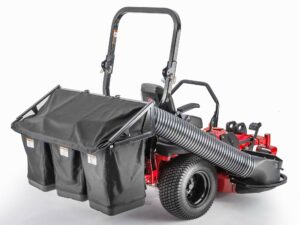 Encore mower with bagger